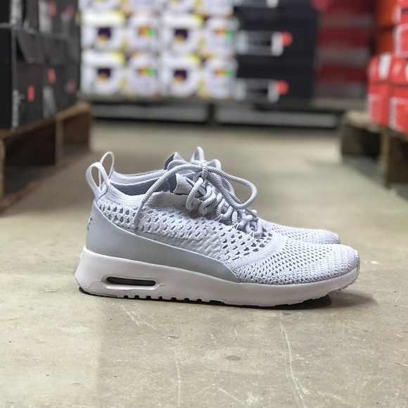 Details about Nike Air Max Thea Ultra FK Flyknit Women´s Sneaker Sport Shoes grey 881175 002